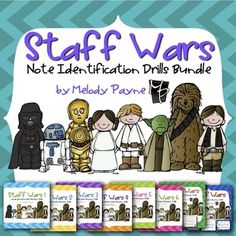 Staff Wars Note Reading BUNDLE for Elementary Music Studen