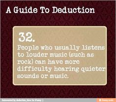 A guide to deduction 32