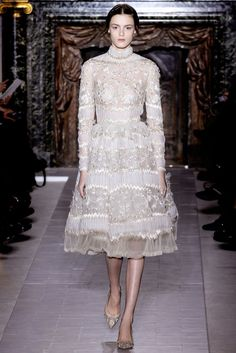 Valentino Spring 2013 Couture Fashion Show - Kremi Otashliyska (Elite)