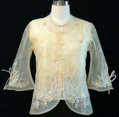 Women's Barong - Barongs R us Philippines, Filipiniana Dress, Womens Month, Line Shopping, Beige Dresses, Formal Wear, Gowns, Barong Tagalog, Clothes