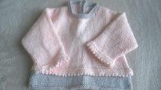 pull,laine katia,bébés,fait main,joli