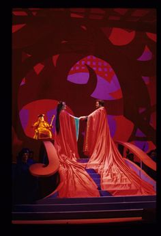 Turandot, 1998 (with a colorful set design by David Hockney)