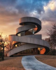 """Mi piace"": 4,223, commenti: 37 - Parametric Architecture (@parametric.architecture) su Instagram: ""(Snapchat: #paarchitecture ) Ribbon Chapel in #hiroshima #japan by Hiroshi Nakamura & NAP…"""