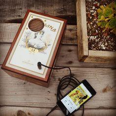 #Handcrafted #cigar box #speakers  LeucadiaSound.com
