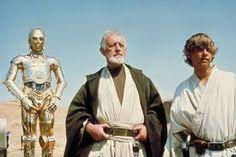 3PO, Obi-Wan & Luke.