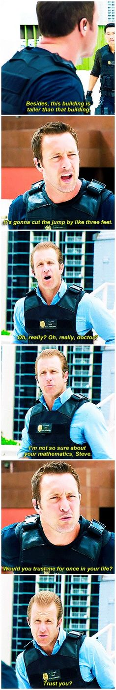 hawaii five 0  mcdanno  alex o'loughlin  scott caan  h50: 6x24  I live for how much attitude danny packs into his body language