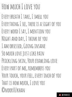 Romantic poem I Think Of You, You And I, I Love You, My Love, Romantic Poems, Going Insane, Day For Night, So Much Love, Thinking Of You
