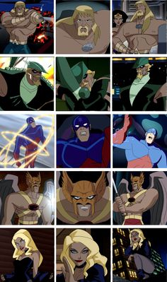 Justice League Unlimited- loved... this... show.