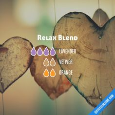 Relax Blend - Essential Oil Diffuser Blend