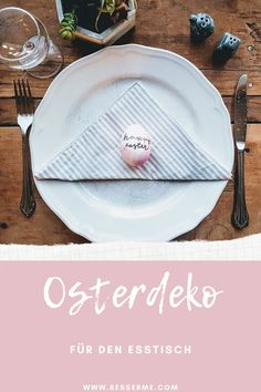 Ostern steht schon bald vor der Tür. Diejenigen von euch die gerne kochen, haben sicherlich schon das ganze Ostermenü geplant. Wir haben euch hier ein paar Tipps zusammengestellt, wie ihr zudem euren Tisch schön dekorieren könnt. Normalerweise kann man den Tisch für ein spezielles Fest ganz einfach dekorieren. Nehmt euch dieses Jahr ein bisschen mehr Zeit und überrascht eure Familie, indem ihr einen speziellen Ostertisch herzaubert. Plates, Tableware, Couple, Decorating, Cooking, Simple, Tips, Dekoration, Nice Asses