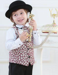Barn Smoking / Vast Kostym / Prestanda Klader / Sma Kostymer Som / Ringbarare Kostymer