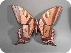 intarsia wood butterfly - Google Search