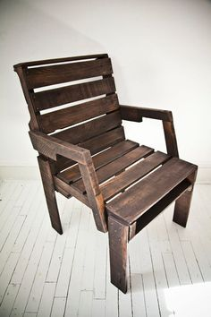 pallet chair $199 on etsy