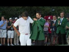 WSU Flag in the background at the Masters. Go Cougs!!