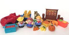 Little People Farm Lot People Figures Accessories Truck | eBay