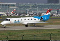 LX-LGI Luxair Embraer ERJ-145LU