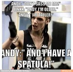 Andy and Jinxx, the funniest people  alive