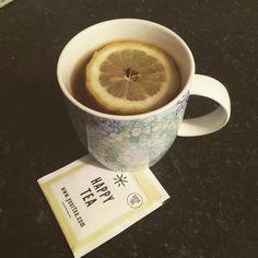 Got a batch of happy tea. I'm a bit sceptical that a tea can lift my mood. Will report back when I finish the box #happytea #yourtea