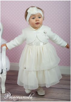 JULIA Babykleid inkl. Jacke, Hut, Mantel und Winterhut! - Princessmoda - Alles für Taufe Kommunion und festliche Anlässe