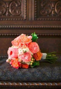 Coral Orange Bouquet
