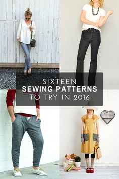 16 Patterns to try in 2016