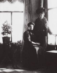 Tsarina Alexandra and Anna Vyrubova