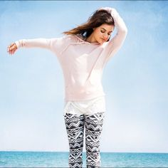 Hollister + Lucy Hale Leggings & Pullover