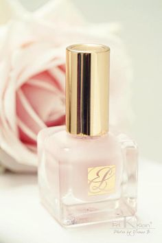 This soft blush pink is the kind of nail polish I would wear.Very pretty!