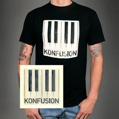 Konfusion Tee/(Autographed) Poster Bundle -- I can't wait for this to arrive!