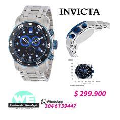 """Invicta Pro Diver  Ref.EW-800042 Precio $299.900 Por Tiempo Limitado @weperfumeria """"Solo Originales"""""""