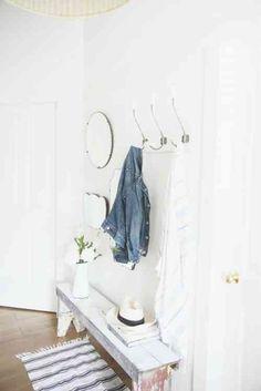 idée de déco couloir en blanc