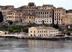Corfu Corfu Town, Corfu Island, Corfu Greece, Greece Islands, European Travel, Homeland, Life Is Beautiful, Places To Travel, Places Ive Been