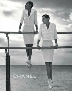 Chanel again. obsessed with this whole campaign see 'black and white' as well