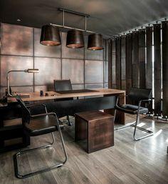 Office Cabin Design, Small Office Design, Office Furniture Design, Office Interior Design, Luxury Interior Design, Home Office Decor, Office Interiors, Office Table, Interior Ideas