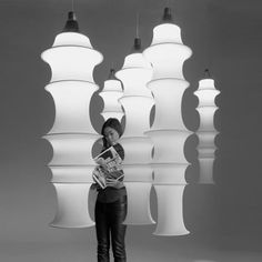 Danese Milano Falkland Pendant Lamp Large by Bruno Munari Modern Lighting Design, Lighting Concepts, Modern Interior Design, Modern Pendant Light, Modern Chandelier, Chandelier Lighting, Bauhaus, Blitz Design, Element Lighting