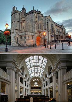 La bibliothèque de Bristol Bâtie en 1906, son architecture est caractéristique de l'architecture édouardienne du début du XXe siècle (apparition du béton et de l'éclairage au gaz).