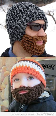 The beard hat - So funny!