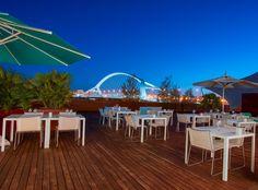 Anímate a cenar en la terraza de Celebris y disfruta de sus magníficas vistas, ¡será una velada perfecta!   Y recuerda... ¡este domingo nos vemos en el Brunch! :)