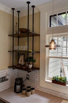 Historic Home Remodel industrial-kitchen
