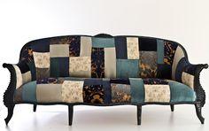 SeekingDecor: Name Design Studio's Patchwork Furniture
