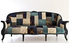 SeekingDecor: Name Design Studio's Patchwork Furniture