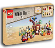 Burning Man: the LEGO set.