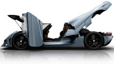 Koenigsegg Regera. 249 mph in first (and only) gear
