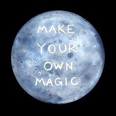 make your own magic (black background)   free downloads   designlovefest
