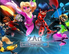 Can't wait for the new miraculous heroes in the bottom left!! And all the other new zag shows!!!!