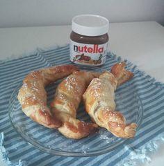 Croissant cu Nutella