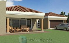 A 5 bedroom single storey house plan with garages for sale. Browse single storey floor plan designs online, house designs, modern house plan with photos. 5 Bedroom House Plans, Porch House Plans, Family House Plans, Tuscan House Plans, French Country House Plans, Craftsman House Plans, Small Modern House Plans, Beautiful House Plans, House Plans For Sale