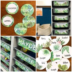 Hands-on playful learning activities by an Australian Early Childhood teacher and mum of three perfect for home or the classroom. Garden Theme Classroom, Year 1 Classroom, Jungle Theme Classroom, Classroom Layout, Classroom Labels, Classroom Decor Themes, Classroom Jobs, Classroom Organisation, Classroom Design
