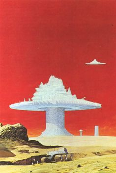 70s Sci-Fi Art: Angus McKie likes red