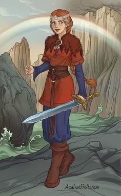 Witcher-Cerys an Craite 2 by Jaz-Merigold